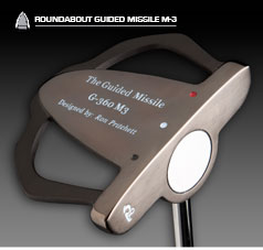 ashdon golf - guided missile putter